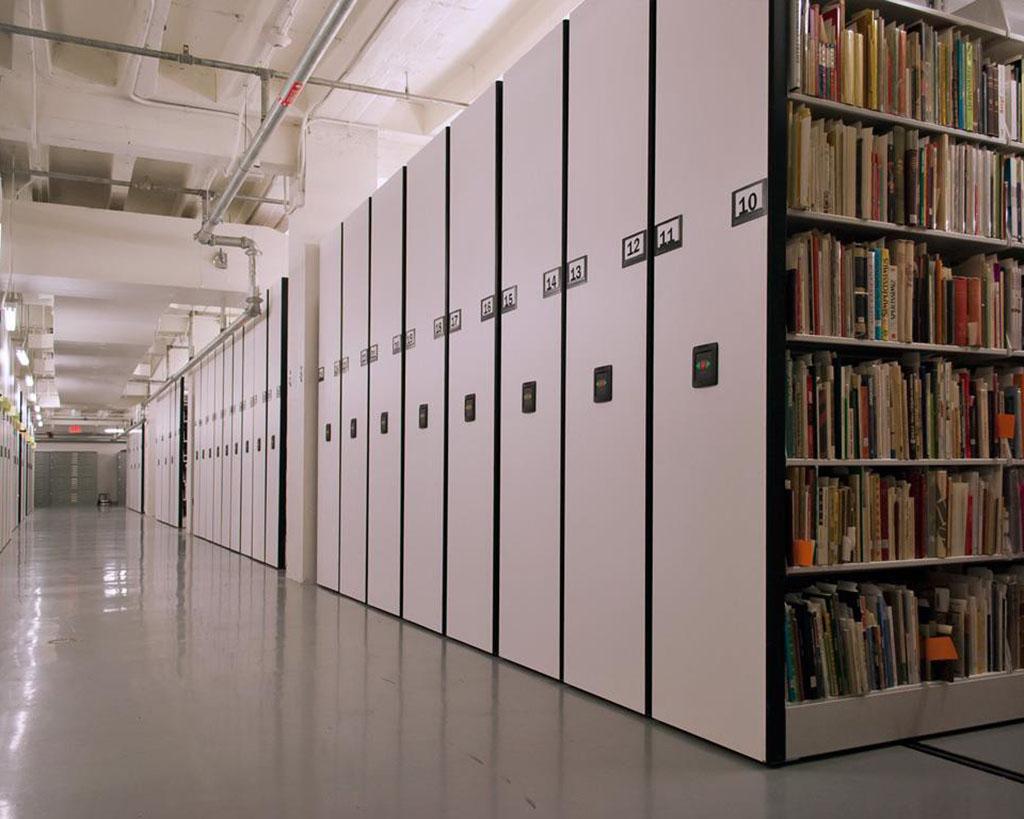 DMG North services archival storage facilities